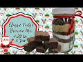 CLASSIC FUDGE BROWNIE  MIX!! GIFT IN A JAR!!  THE HOLIDAYS ARE COMING!!