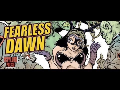 FEARLESS DAWN #1 ANIMATED COMIC on iPad by Asylum Press and Visionborne