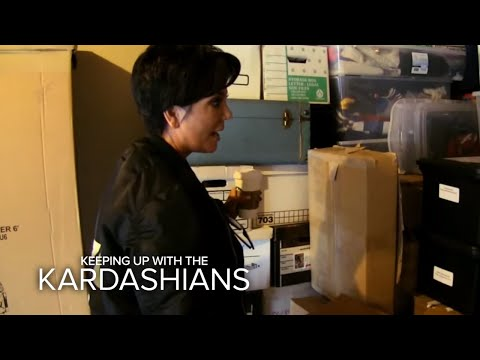 Kris Jenner Finds What In Storage Unit?! | KUWTK | E!