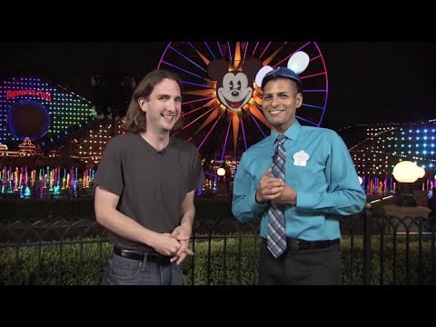 Interview: Walt Disney, Mickey and Neil Patrick Harris in World of Color Celebrate - Disneyland 60th