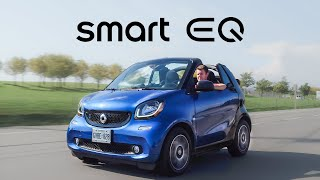 2018 Smart Fortwo EQ Electric Cabriolet Review - The Ideal City Car