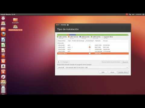 Tutorial como instalar ubuntu 12.10 paso a paso