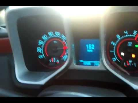 2010 Camaro SS top speed run - YouTube