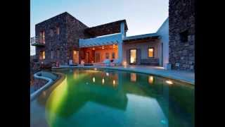 Greece, Mykonos, villa with panoramic sea view for sale