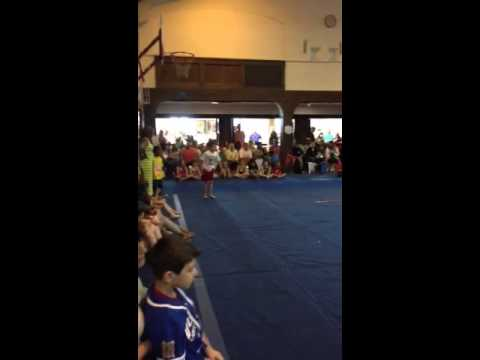 Gymnastics platinum floor routine