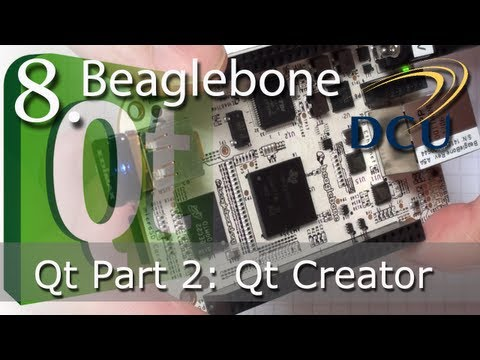 Beaglebone: Qt Creator for C++ ARM Embedded Linux Development