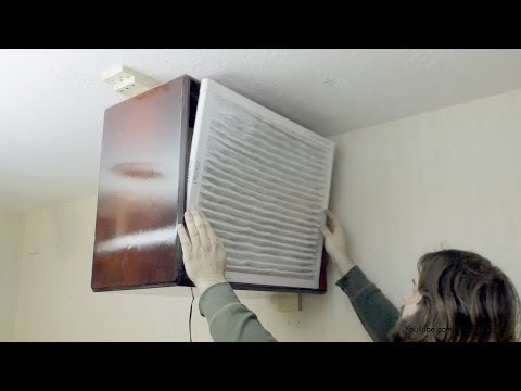 Build a Woodworking Dust Filter Air Purifier DIY 100 bucks   Part 1