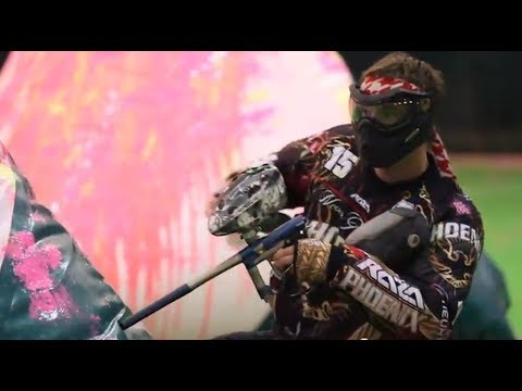 Professional and Divisional Russian Paintball at Amazing New Indoor Field