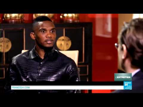 Samuel Eto'o en entretien exclusif sur FRANCE 24