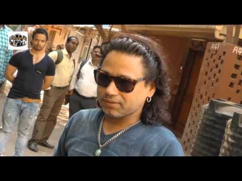 Kailash Kher & Vaishali Samant at Song Recording of the Film Billu Ustaad 2