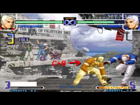yashiro paso a paso kof 2002 magic plus 2 mi segundo video de kof