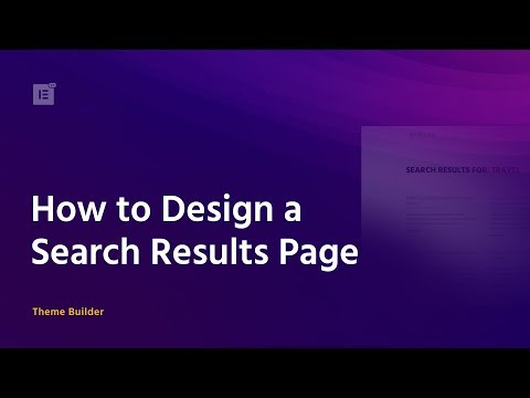 How to Customize Search Results Pages
