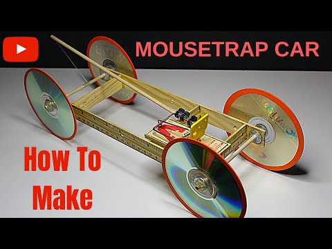 How to make a Mousetrap Car Cheap & Easy Tutorial (Fast & Long distance) - Science Project