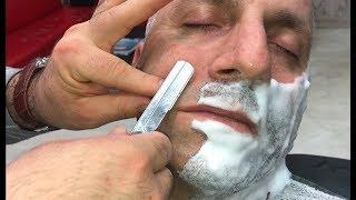 Asmr Massage | Asmr Shave | subscribers  Thanks By Numan(beard cut)(sakal traşı)(Razorcut)