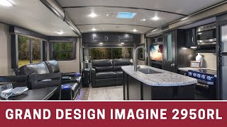 "Tour our New 2018 Grand Design Imagine 2950RL 33'8"" Travel Trailer RV"
