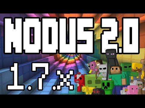 Minecraft - Nodus 2.0 Hacked Client 1.7.10 - 1.7.2  - WiZARD HAX