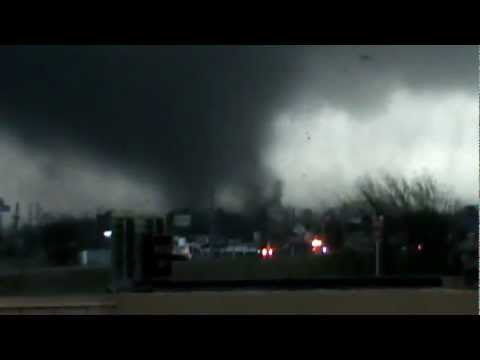Tornado in Hattiesburg, MS 10 Feb, 2013