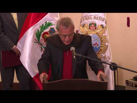 Tema:Profesor Emérito al Dr. Waldemar Espinoza Soriano