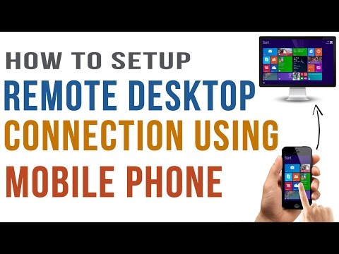 How to Remotely Control your PC/Laptop Using Mobile Phone