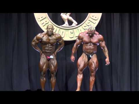2014 Arnold Classic Mens Open Bodybuilding Prejudging First Callout video