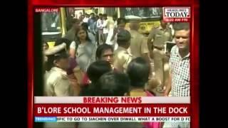 Police make arrest in Bangalore child rape case