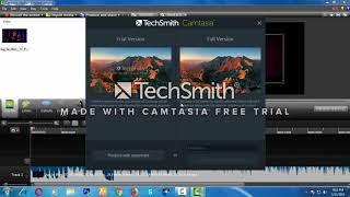 How to convert video to audio on camtasia studio