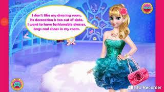 Game hay vui nhộn cho bé - Tủ đồ của elsa - Dress up games for girls