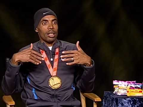 Meb Keflezighi discusses nutrition and training at elevation Mammoth