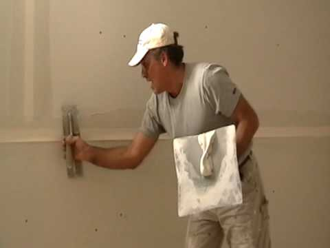 Taping Drywall Butt Joints 18