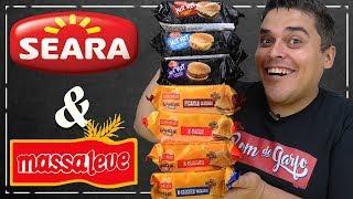 Hambúrguer Congelado SEARA & MASSA LEVE - Pronto em 1 Minuto e Meio!