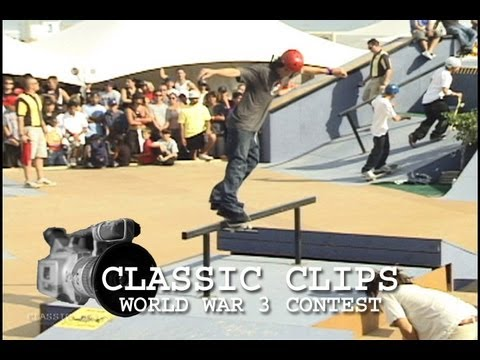 Skateboarding Classic Clips Event #2 - World War 3 Contest