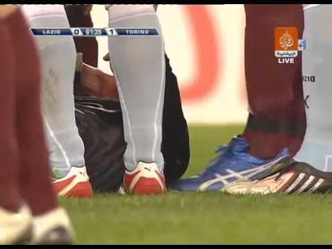 Aleksandar Kolarov knock out a Referee
