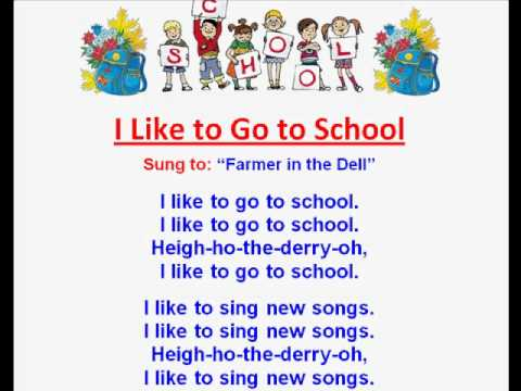 Back To School Rhymes And Coloring Pages