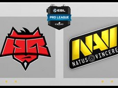 CS:GO - HellRaisers Vs. NaVi [Train] Map 1 - ESL Pro League Season 4 - EU Matchday 22