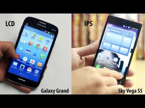 So sánh Samsung Grand vs Sky Vega S5: Thiết kế. màn hình... - Phần 1 - CellphoneS