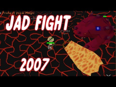 Runescape 2007 Jad Fight - Zerker Pure - Fire Cape