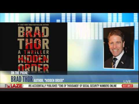 Hidden Order book by author Brad Thor on air with Glenn Beck, Federal Reserve Scot Harvath
