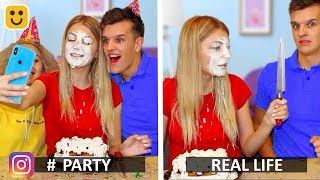 Instagram vs Real Life & Funny Facts!