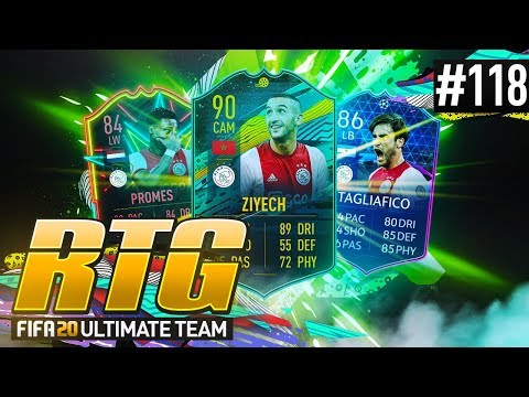 THE AJAX TRIANGLE OF DREAMS! - #FIFA20 Road to Glory! #118 Ultimate Team