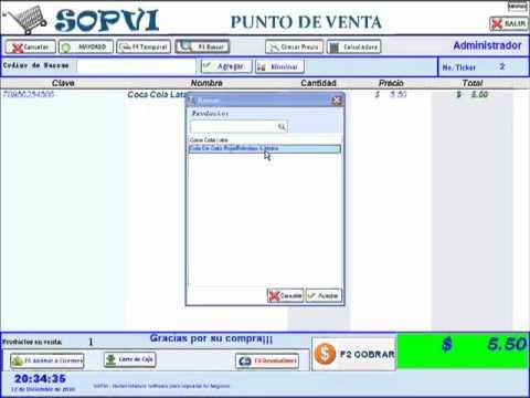 PUNTO DE VENTA GRATIS