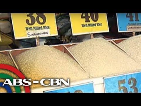 Bandila: Presyo ng bigas, bahagyang tumaas: Philippine Statistics Authority thumbnail