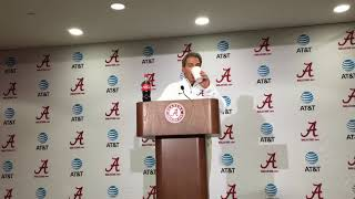 Nick Saban after LSU win - FULL PRESS CONFERENCE