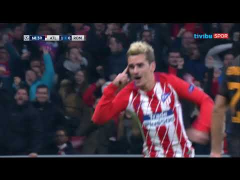 Atletico Madrid 2–0 Roma  | UEFA Şampiyonlar Ligi Maç Özeti