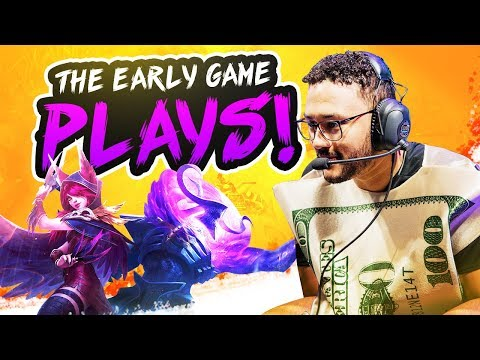 THE EARLY GAME PLAYS!!   APHROMOO