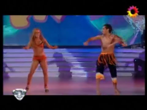 Cirio bailando Axé
