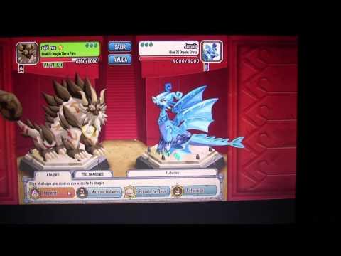 dragon city puro de tierra pelea y otros