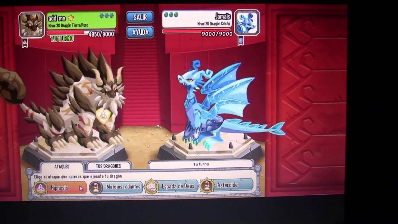 dragon city puro de tierra pelea y otros - YouTube