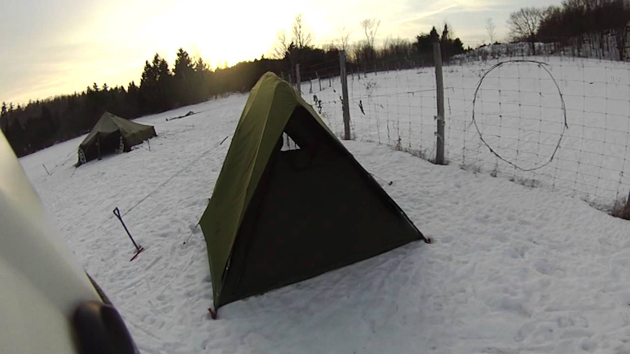 4 Man Crew Tent Canadian Army Youtube
