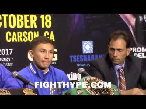 GENNADY GOLOVKIN EXPLAINS WHY HE WANTS MIGUEL COTTO NEXT