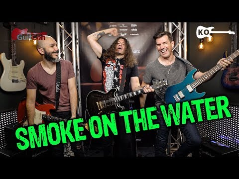 Deep Purple - Smoke on the Water - Electric Guitar Cover by Kfir Ochaion ft. Phil X & Pete Thorn